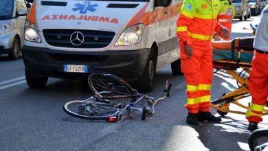 Photo of Auto contro bici in via Crispi