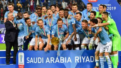 Photo of La Lazio batte 3-1 la Juventus a Riad e vince la Supercoppa Italiana