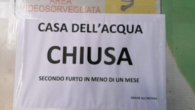 Photo of Chiusa per furto la Casa dell'acqua