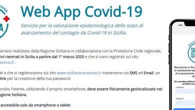 Photo of Coronavirus. l'app siciliana che promette di monitorare il contagio