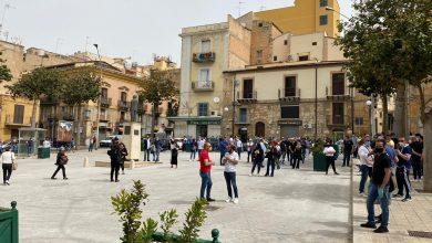 Photo of Manifestazione dei commercianti in piazza S. Francesco