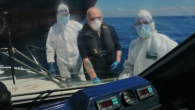 Photo of Marinaio inglese soccorso in mare