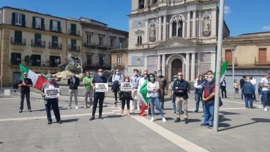 Photo of Caltanissetta, flash mob di Fratelli d'Italia
