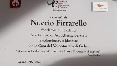Photo of Una targa in memoria di Nuccio Firrarello